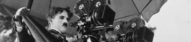 Silent Film Director behind the camera