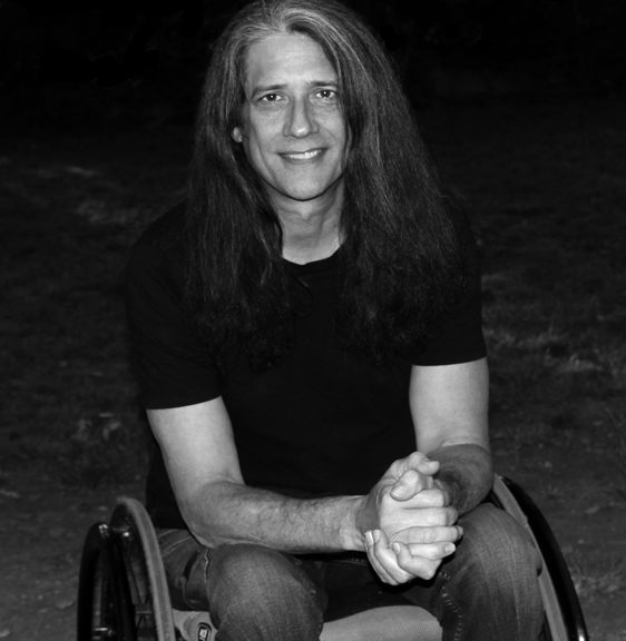 Chris Sheridan black & white photo