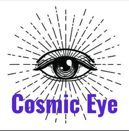 Cosmic Eye Podcast Logo